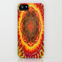 Hail to my African Sun iPhone Case