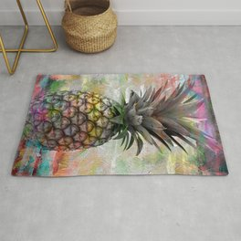 Pineapple design Rug