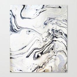 Marble Art V12 #society6 Canvas Print