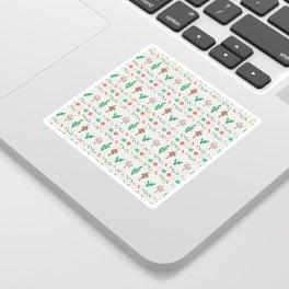 Christmas llama Sticker