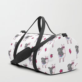 Sloth Music Llama Duffle Bag