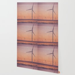 Southwest Windmills Route 66 Wallpaper