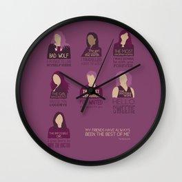 Doctor Who | Companions Wall Clock