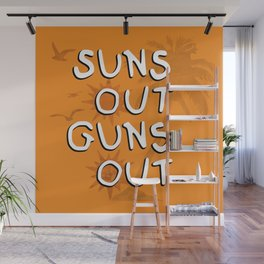 Suns Out Wall Mural