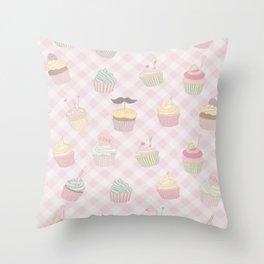 Cake Love Pattern Throw Pillow
