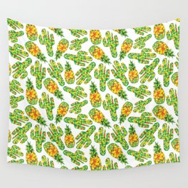 Cactus & Pineapple Wall Tapestry