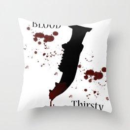First Blade Throw Pillow