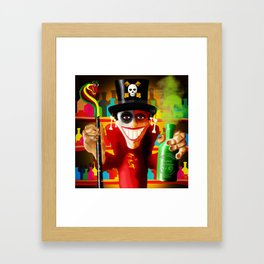 JUJU MAN Framed Art Print