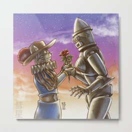 Romance Metal Print