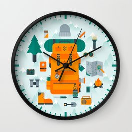 Adventuring Wall Clock