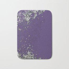 Purple Mold Bath Mat