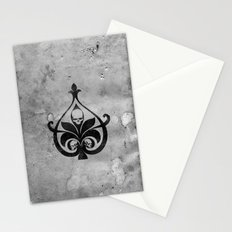 Dark D Stationery Cards