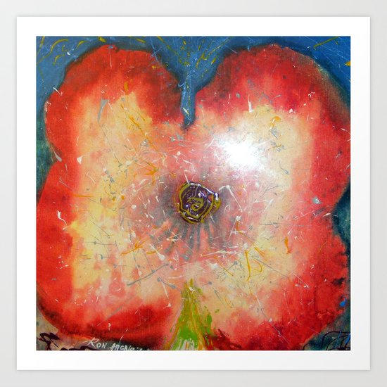 Flortex Art Print