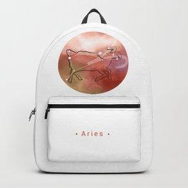 Aries horoscope symbol constellation Backpack