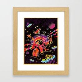 Interdimensional Nishikigoi Framed Art Print