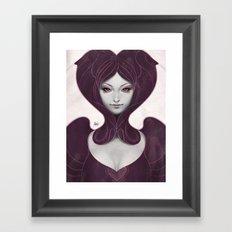 Pepper Heart Framed Art Print