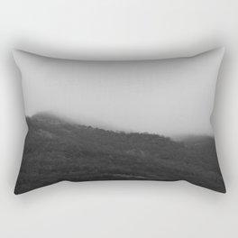 Foggy Mountains Rectangular Pillow