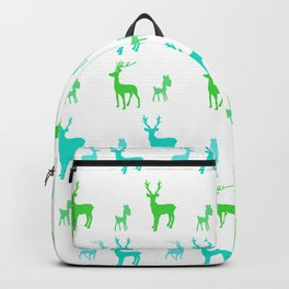 AFE Reindeer Pattern Backpack