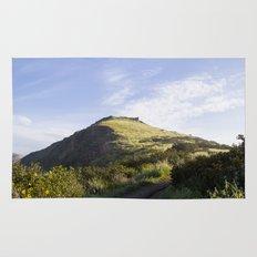 Sunny Mountain Sunrise Rug