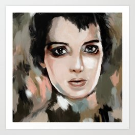 Winona Ryder Art Print