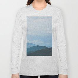 Blue Ridge Mountain Magick Digital Nature Landscape Photography Long Sleeve T-shirt
