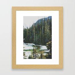 joffre lakes (12) Framed Art Print