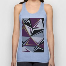 Geometric abstract1 Unisex Tank Top