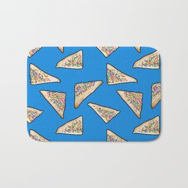 Fairy Bread in Blue, Aussie 90s birthday party Bath Mat