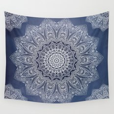 INDIGO DREAMS Wall Tapestry