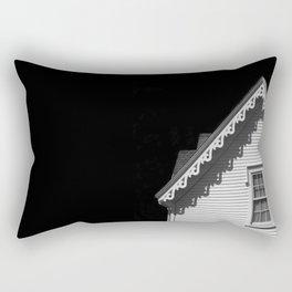 Black and White Architecture Rectangular Pillow