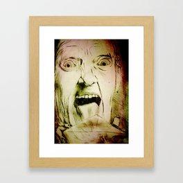pen pal Framed Art Print