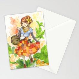 Pumpkin Patchwork Stationery Cards
