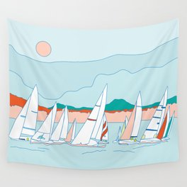 Regata Wall Tapestry