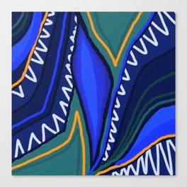 Tropical Print Canvas Print