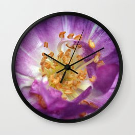 If roses load the air... Wall Clock
