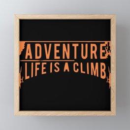 Adventure Framed Mini Art Print