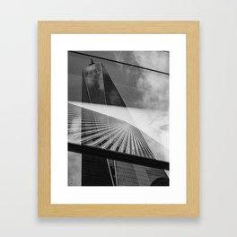 World Trade Center(s) Framed Art Print