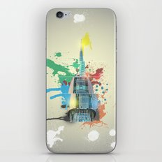 Swan Bell Tower Abstract iPhone & iPod Skin