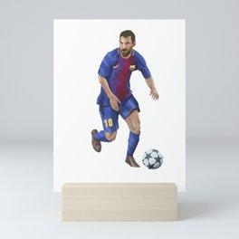 Messi 10 - Football Mini Art Print