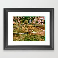 pump for heart ethic Framed Art Print