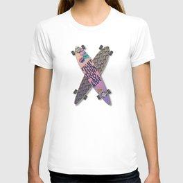 Crossed skateboards T-shirt