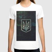 ukraine T-shirts featuring Ukraine by rudziox