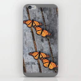 Monarchs two iPhone Skin