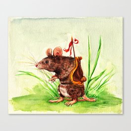The Rodent Guard Canvas Print