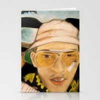 fear and loathing Stationery Cards featuring Fear & Loathing by Lindsey Pudlewski