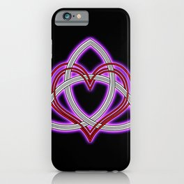 Royal Heart of God iPhone Case
