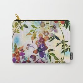 garland of flowers Carry-All Pouch