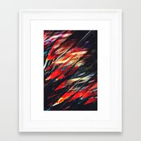 blade runner Framed Art Prints featuring Blade runner by Kardiak