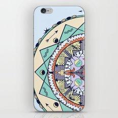 Time and Light Native Shapes Mandala iPhone & iPod Skin