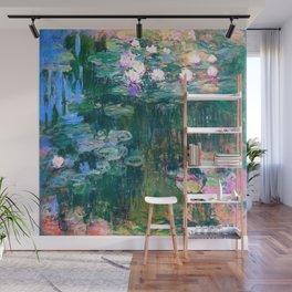 water lilies : Monet Wall Mural